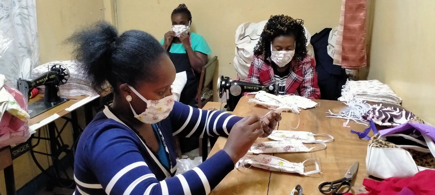 Production of Face Masks by kiini